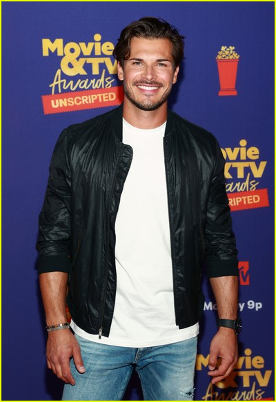 Gleb Savchenko on red carpet at the MTV Movie and TV Awards Unscripted