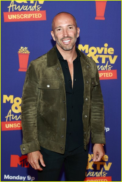 Jason Oppenheim on red carpet at the MTV Movie and TV Awards Unscripted