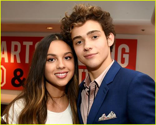 Olivia Rodrigo with Joshua Bassett