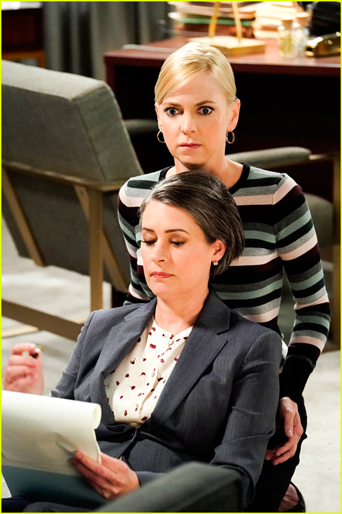 Paget Brewster as Veronica Stone on Mom
