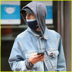 Timothee Chalamet Tries to Stay Under the Radar While Out in NYC
