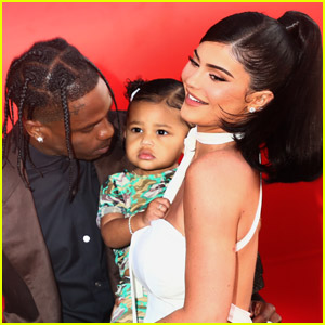 Travis Scott Shares Adorable Photos of Kylie Jenner & Stormi on Mother's Day!