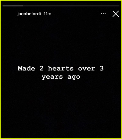 Jacob Elordi message about 2 Hearts