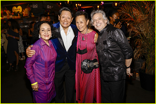 Lawrence & Ruth Chu with Luis Miranda & Luz Towns-Miranda at the
