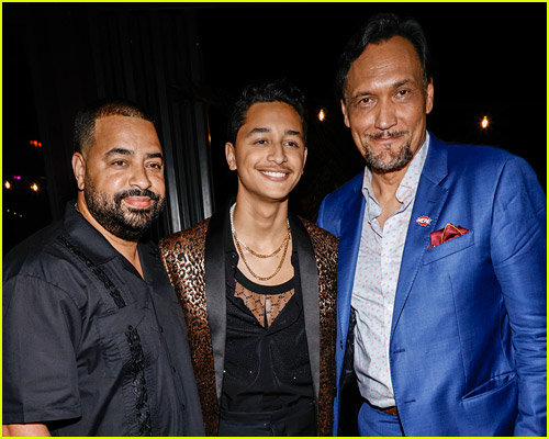 Jimmy Smits and Gregory Diaz IV at the