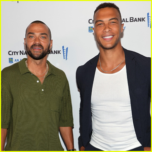 Jesse Williams Hangs Out with 'Bachelorette' Star Dale Moss at Tribeca Film Festival 2021