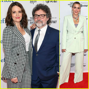 Tina Fey & Husband Jeff Richmond Chat with Busy Philipps for Tribeca Talks Discussion