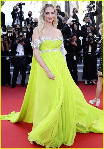 Chiara Ferragni at the Cannes Film Festival