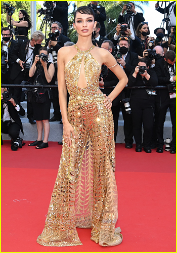 Luma Grothe at the Cannes Film Festival