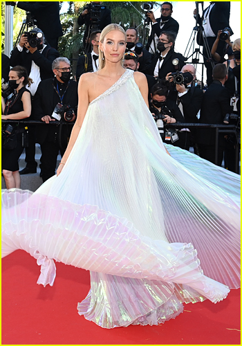 Leonie Hanne at the Cannes Film Festival